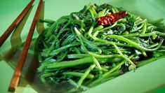 Sichuan Style Spinach