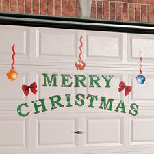 Magnetic Christmas Decorations For Garage Doors