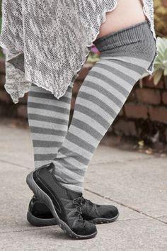 3307ab95c1f9a Super Stripes Knee Socks Knee Socks, Striped Pants, Pilates, Striped Tights,  Pop