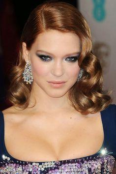 Found! The exact makeup Léa Seydoux was wearing at the 2014 BAFTA Awards: http://beautyeditor.ca/2014/02/20/lea-seydoux-bafta-awards-2014/