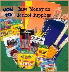Money-Saving Ideas for School Supply Shopping