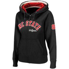 NC State Women's Black Express Full Zip Hood.  I want this sweat shirt