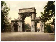 new to site New Brompton, The Memorial Arch, England