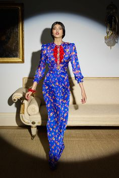 Duro-Olowu-Fall-2014-Collection-London-Fashion-Week-Floral-Sheer-Mixed-Print-Fashion-Glamazonsblog2