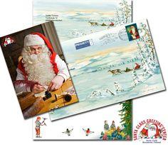 Lettera di Babbo Natale dalla Lapponia per Natale 2014