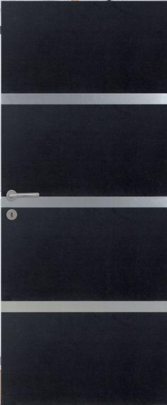 porte int rieure contemporaine mdf noir vernis naturel mat portes int rieures contemporaines. Black Bedroom Furniture Sets. Home Design Ideas