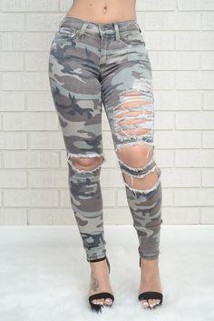 Fashion Nova  Battle Scar Jeans