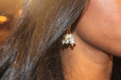 Hand crafted stone earring! Thank you Stone Savant!:)
