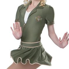 Liberts Character Army Dress