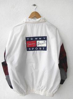 tommy hilfiger zip hoodie 90s red - Google-søk