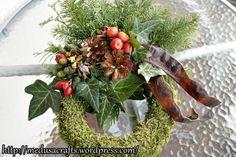 wreath Medusa, Floral Wreath, Wreaths, Plants, Home Decor, Crowns, Jellyfish, Homemade Home Decor, Door Wreaths