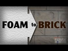 How To Make Styrofoam Look Like Brick