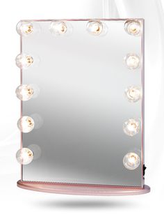 Hollywood Glow XL Vanity Mirror By Impressions Vanity (Rose Gold w/Clear Bulbs Dimmable) Rose Gold Room Decor, Rose Gold Rooms, Hollywood Vanity Mirror, Lighted Vanity Mirror, Gold Vanity Mirror, Mirrors, Gold Bedroom, Bedroom Decor, Bedroom Ideas