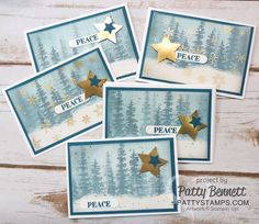 Wonderland-trees-snow-vellum-cards-pattystamps-stampin-up-peace-star