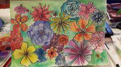 #FlowerPower class with#AlisaBurke. Fun!