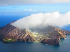 White Island Vulcão mais ativo da Nova Zelândia