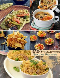 Starter Recipes, 2,900 Indian Snack Recipes, Veg Snacks   Page 1 of 268