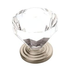 Amerock Traditional Classics 1-1/4 in. Satin Nickel Cabinet Knob-14303G10 at The Home Depot -- $3.95 each