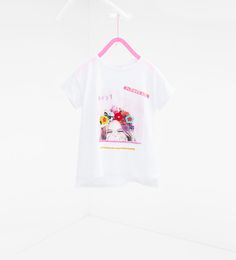ZARA - NIÑOS - Camiseta flores