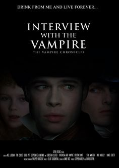 "Interview with the Vampire (1992) ""A vampire tells his epic life story: love, betrayal, loneliness, and hunger."""