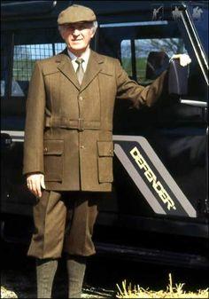 Tweed Norfolk Jacket - Mens Shooting - Mens - Alexander James - English Country Clothing