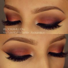 Fall Smokey Plum Eyes