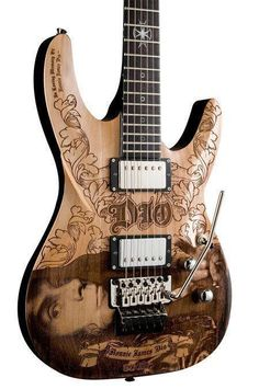 Tribute guitar to the late great Ronnie James Dio (R.I.P.)