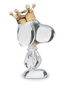 King+Snoopy+Figurine+by+Baccarat+at+Neiman+Marcus.