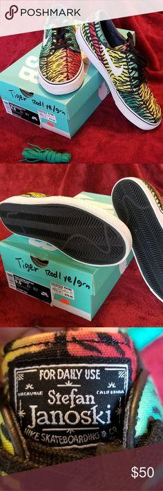 Nike Stefan Janoski Nike SB Zoom Janoski Exotic Tiger Pack Nike Shoes Sneakers