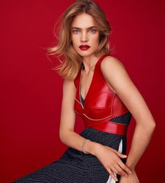 Harper's Bazaar Spain December 2016 Natalia Vodianova by Thomas Whiteside