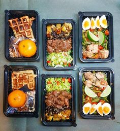 Working working out attending to young ones in the family and food prepping makes for  one tired out lady. Peace out peeps!  L: WW homemaker waffle mixed nuts with some Cherrios tangerine  M: celery BBQ need black beans sweet potatoes  R: Tom Yum greens Terriyaki pork egg      #mealprepdaily #fit #healthymeals #food #mealprepinspo #CleanEats # #EatForAbs #FitMenCook #NotADiet #MealPrepIdeas #mealprep #Fitfam #fitfood #mealprepsociety #EatCleanTrainDirty #tasty #healthyfood #mealprepping…