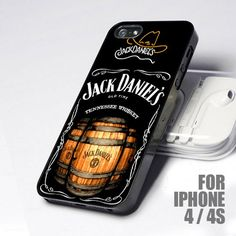 New Jack Daniels Whiskey Beer 4 design for iPhone 4 or 4s Case