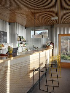 When Trondheim Designevent arranged a trip to Stokkøya Sjøsenter last weekend, I just had to come along. Restaurant Interior Design, Hospitality Design, Blog Design, Metal Walls, Norway, Kitchens, Sea, Coffee, Detail