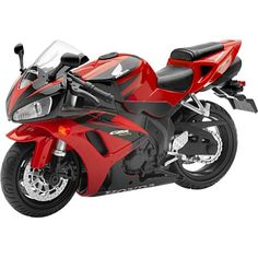 New Ray Honda CBR1000 Replica Motorcycle Toy – Red / 1:12 Scale