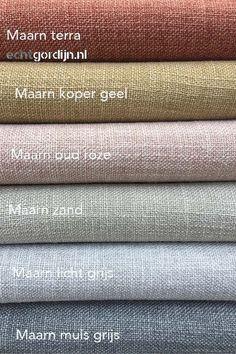 Curtain Styles, Curtain Designs, Bedroom Themes, Bedroom Colors, Linen Curtains, Linen Fabric, Colour Pallete, Color Schemes, Fabric Decor