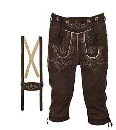 Costumes, Pants, Fashion, Men Wear, Men's, Oktoberfest Costume, Dark Brown, Dirndl, Get Tan