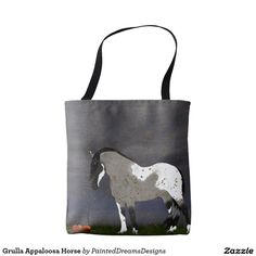 Grulla Appaloosa Horse Tote Bag