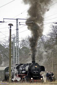 Full steam by Ulrich R. Sieber, via 500px
