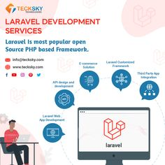 We develop secure, stable, and high-performance #webapplications with #Laravel, one of the most powerful #PHP #framework. It is a quick development approach and MVC architecture patterns set it different from others. Contact us today to get the best WEB solution: #LaravelWebDevelopmentServices #PHPFramework #LaravelWebApp #LaravelWebsite #WebDevelopers #WebDesign #Europe #Switzerland #germancy #USA #UK #france #teckskytechnologies #tecksky Mvc Architecture, Open Source, Best Web, App Development, Mobile App, Switzerland, Web Design, Europe, How To Get