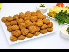Secrets falafel, τραγανά χνουδωτά εστιατόρια, με σάλτσα ταχίνι, πρέπει να το δοκιμάσετε, πολύ νόστιμ - YouTube Dog Food Recipes, Vegetarian Recipes, Cooking Recipes, Healthy Recipes, Sauce Tahini, Falafel Recipe, Arabic Food, Mediterranean Recipes, Creative Food
