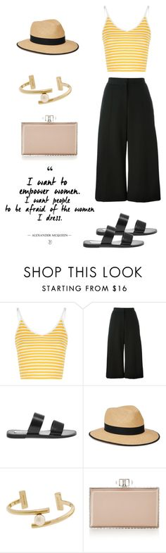 """""""Challenge (tag)"""" by soso-alliso ❤ liked on Polyvore featuring Glamorous, MSGM, Steve Madden, Christys', Jason Wu and Judith Leiber"""