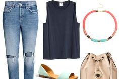5 Unexpected Ways To Style Jeans And A T-Shirt