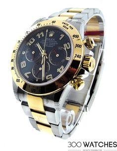 Rolex Daytona Cosmograph Steel 18k Gold | discount luxury watches | 300watches