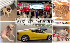 Vlog da Semana (18 à 21 de Março) - Forever 21, Passeio de Ferrari e Amora