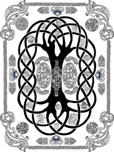 Yggdrasil Tattoo by *deep-thought-design on deviantART
