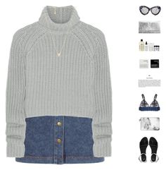 """""""And I don't care if I sing off key, I find myself in my melodies"""" by annncy ❤ liked on Polyvore featuring T By Alexander Wang, ASOS, Casetify, STELLA McCARTNEY, Le Specs, Korres, philosophy, Gorjana, Yves Saint Laurent and 186"""