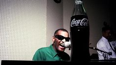 Pop Songs: How Coca-Cola Invited Music's Biggest Stars to 'Swing the Jingle' Coke, Coca Cola Ad, Ray Charles, Pop Songs, Marketing, Big Star, Slogan, Ads, Music