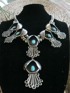 Old Pawn Indian Turquoise Jewelry | Reserved kelly Bradtke Antique Navajo Old Pawn by indianqueen