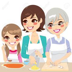 grandmother: Daughter, mother ...