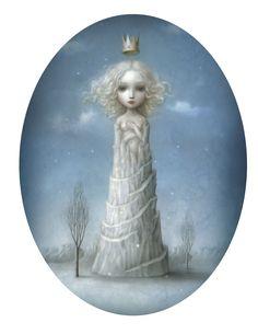 Ice Princess | Ice Princess by Nicoletta Ceccoli | dailyDuJour